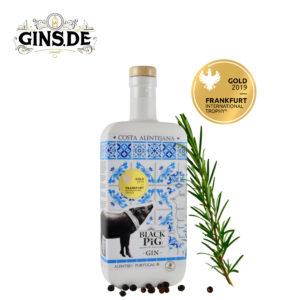 Flasche Black Pig Gin Costa Alentejano