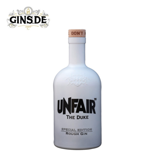 Flasche The Duke Rough Gin Unfair Edition vorn