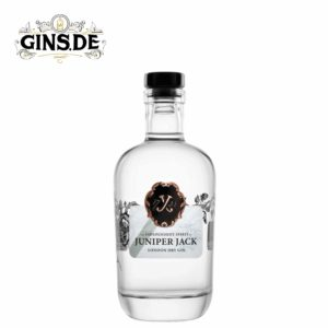 Flasche Juniper Jack London Dry Gin