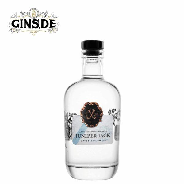 Flasche Juniper Jack Navy Strength Gin