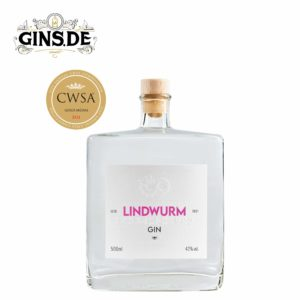Flasche Lindwurm Gin Sommer Edition