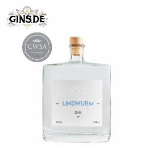 Flasche Lindwurm Gin Winter Edition