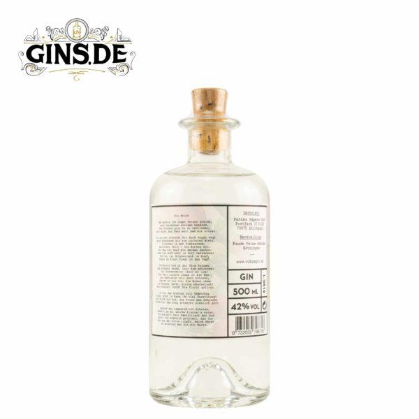 Flasche Rubus Gin hinten