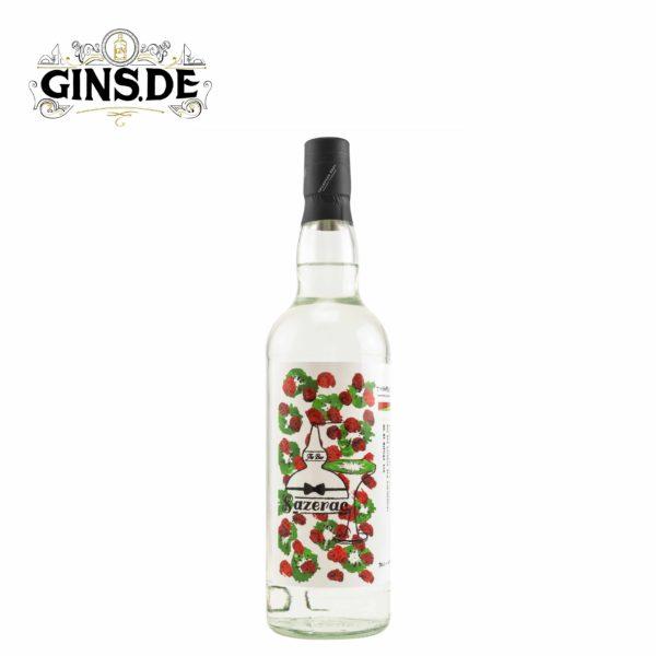 Flasche Sazerac Strawberry Gin vorn