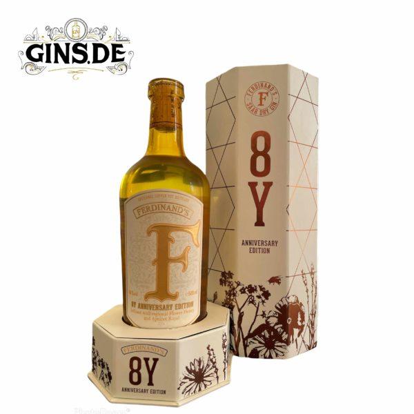 Flasche Ferdinands 8Y Anniversary Edition vorne